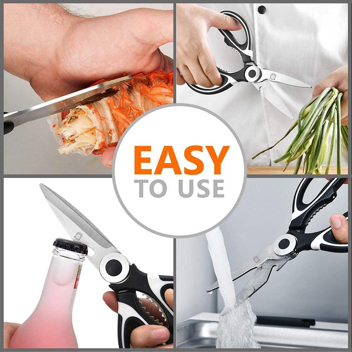 Kitchen Shears - Ultra Sharp Premium Heavy Duty Kitchen Shears
