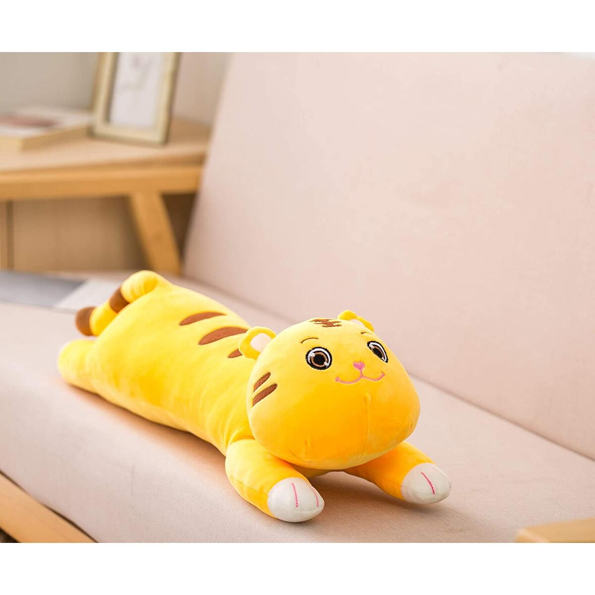 TorrisToys 25 Inches Stuffed Tiger Plush Toy - Perfect Cute Big Stuffed Animals Tiger for Kids