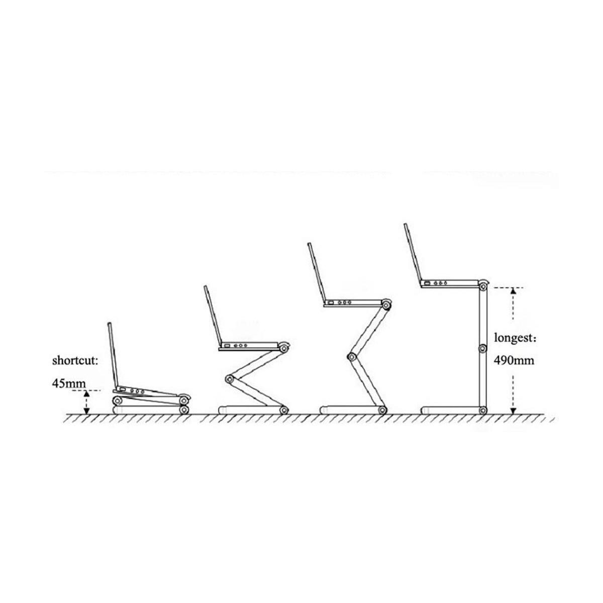 Portable Adjustable Laptop Stand
