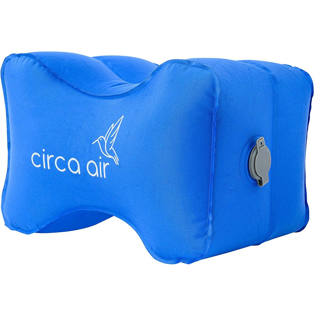 Inflatable Knee Pillow - Super Light & Compact For Travel - weighs just 0.13 lbs! Great for Sciatica Relief, Back, Hip &Joint Pain.