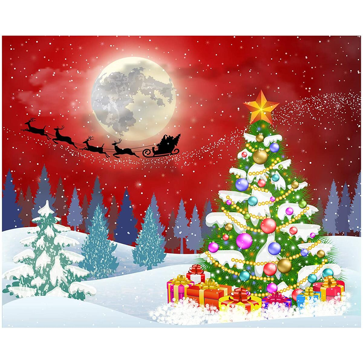 Diamond Painting for Adults Christmas Craft Kit Paint by Number with Gems