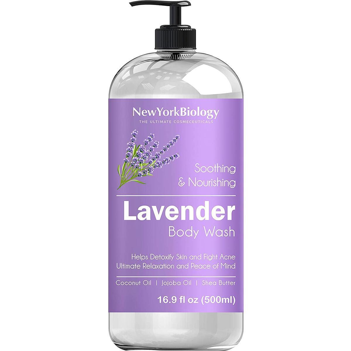 New York Biology Lavender Body Wash 16 oz