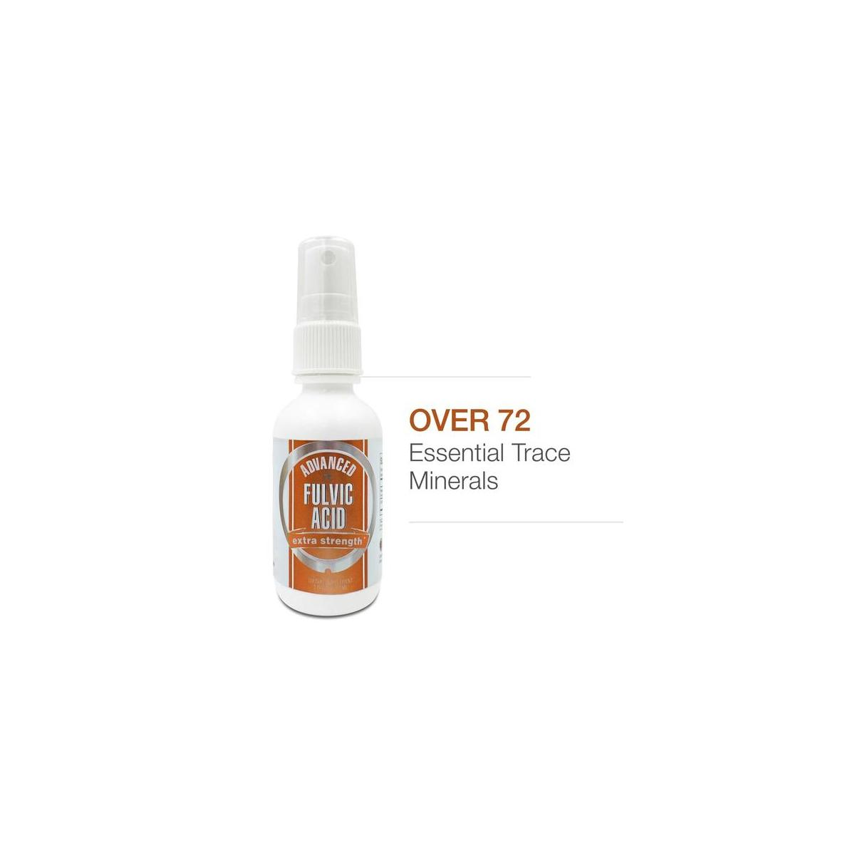 Advanced Fulvic Acid Spray - 72+ Trace Essential Trace Minerals