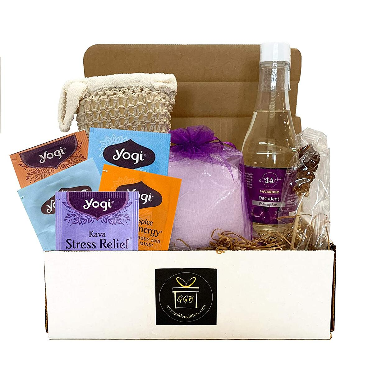 Home Spa Gift Basket For Women - CLASSIC EDITION - LAVENDER