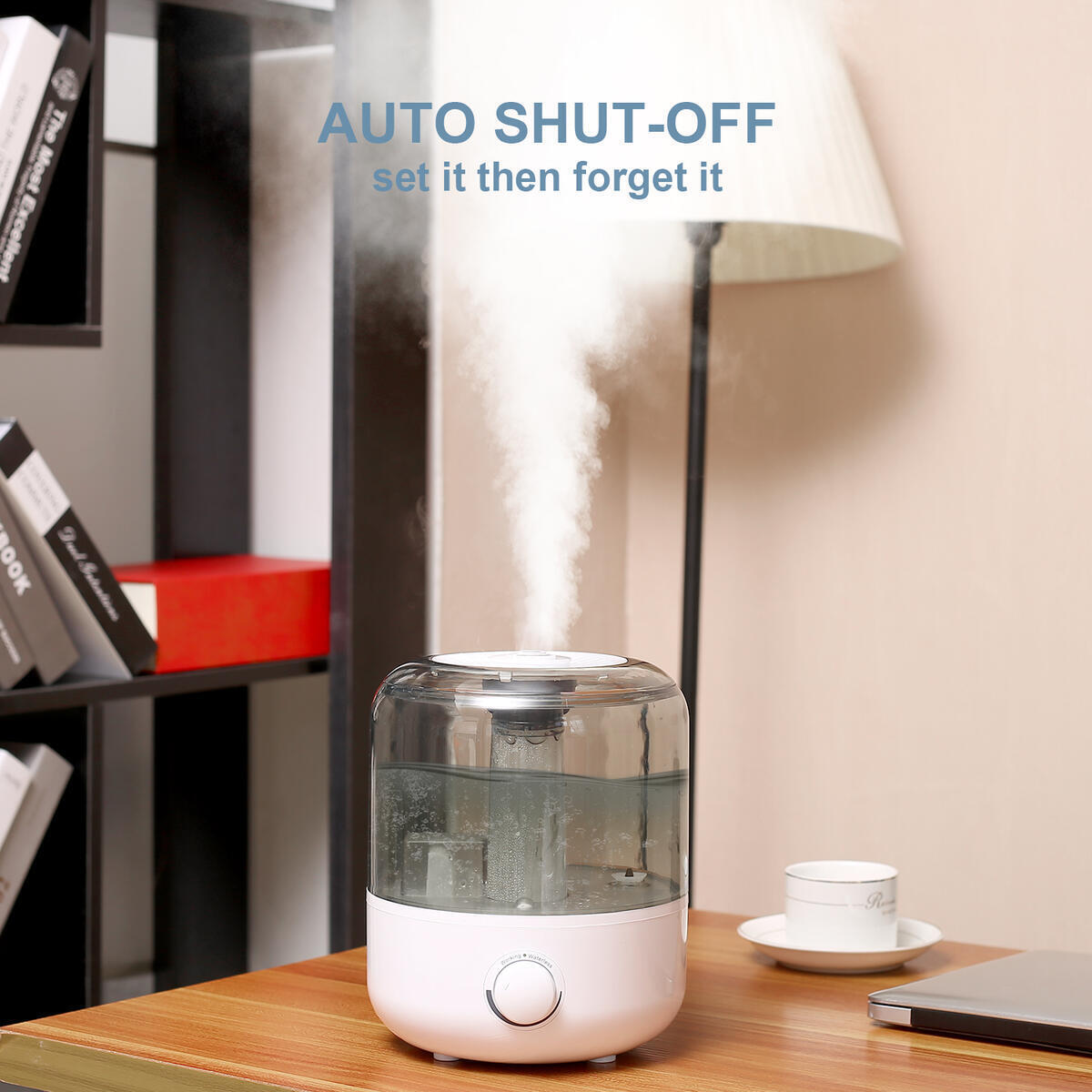 Ultrasonic Cool Mist Humidifiers for Bedroom SX, Large 3L 30Hours Essential Oil Diffuser Top Fill(115692)