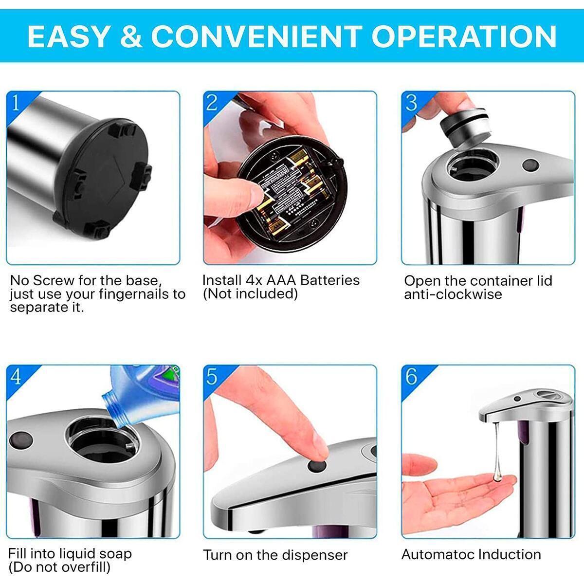 My Safe Home - Hands Free Soap Dispenser