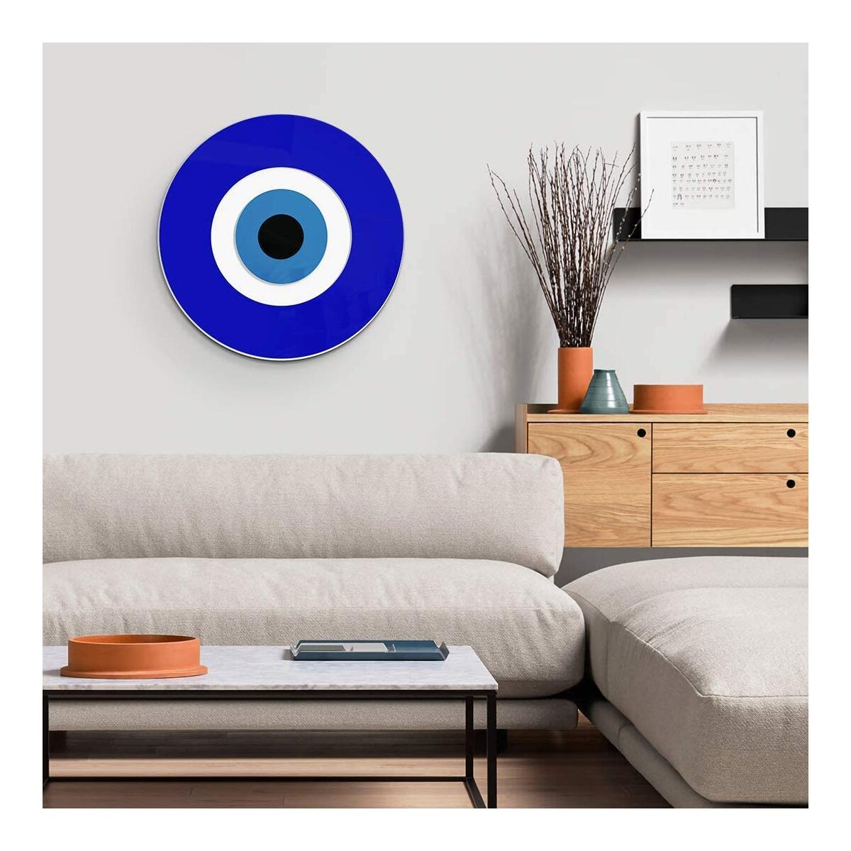 4ArtWorks - 3D Evil Eye Wall Decor Ornament (12
