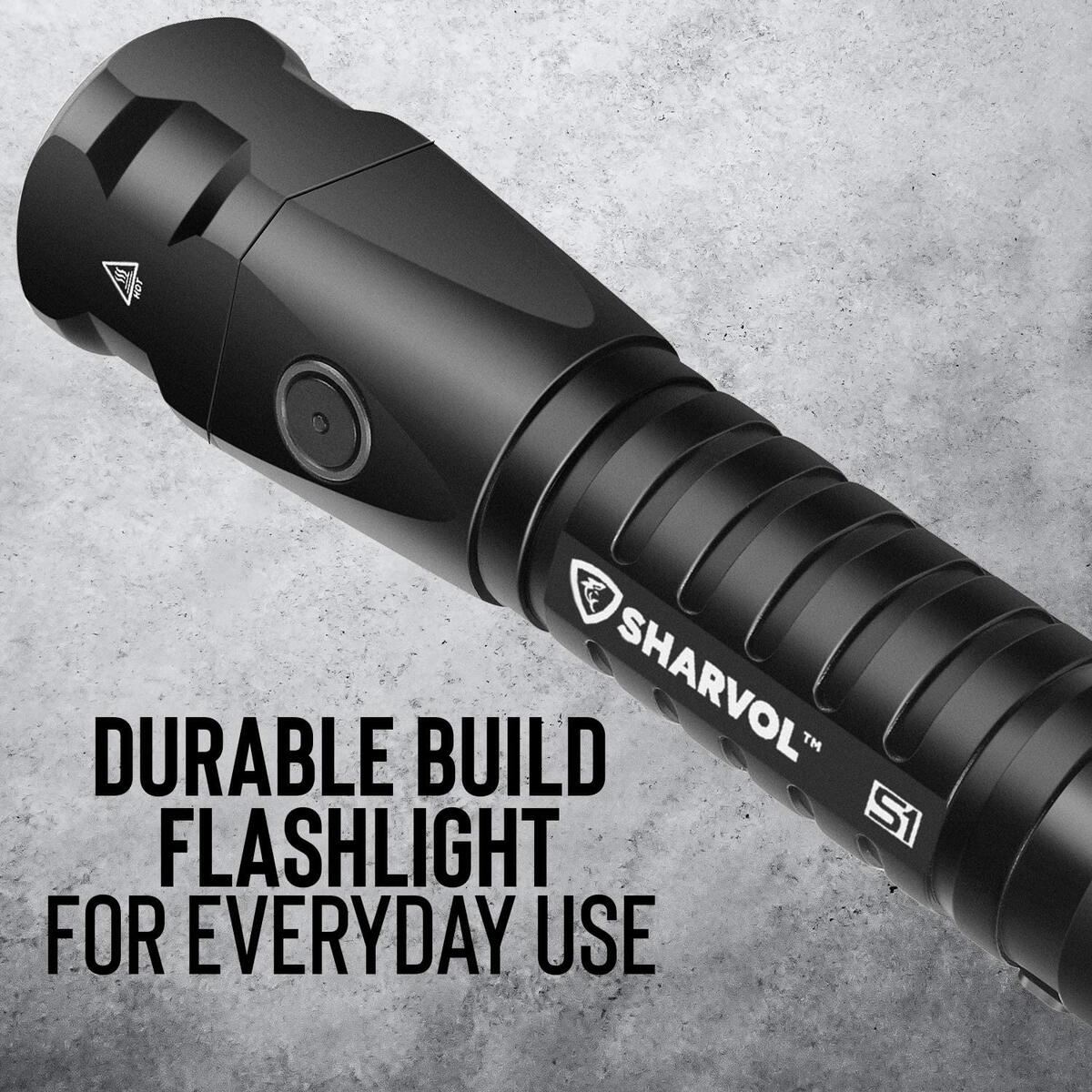 Rechargeable Tactical LED Flashlight