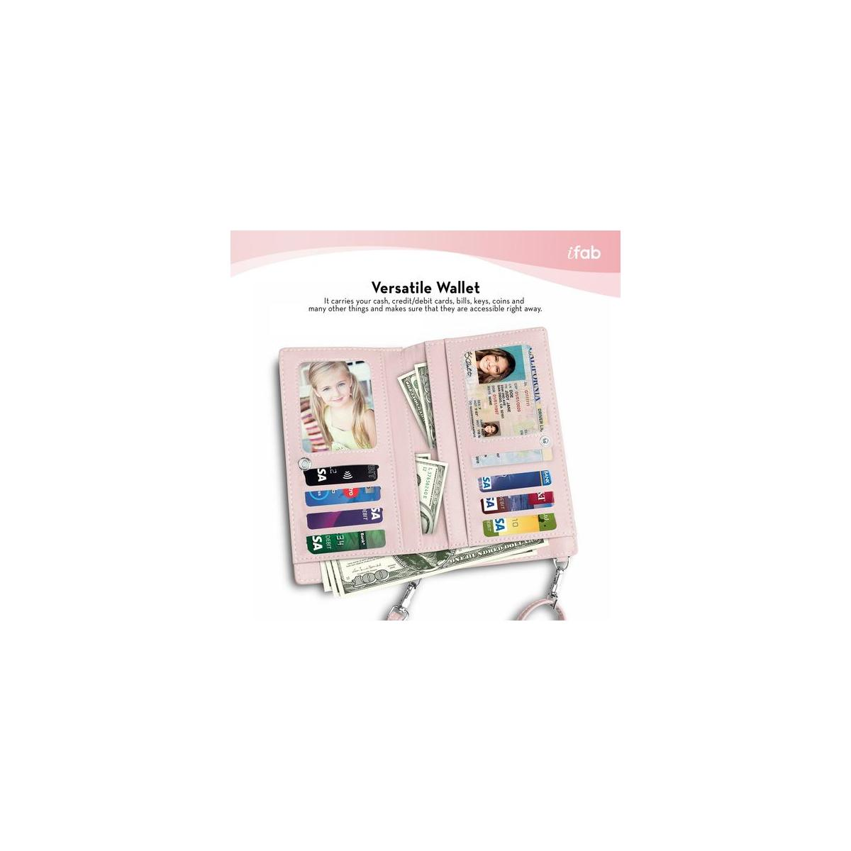 Small Crossbody Bag for Women, Cell Phone Purse Wallet with Credit Card Slots