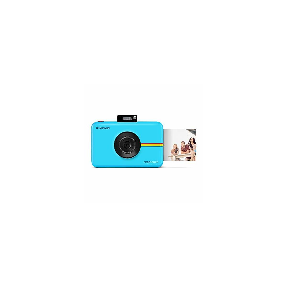 Polaroid Snap Touch Portable Instant Print Digital Camera with LCD Touchscreen Display (STYLE: Base, COLORS: Black, Blue, Red, White)