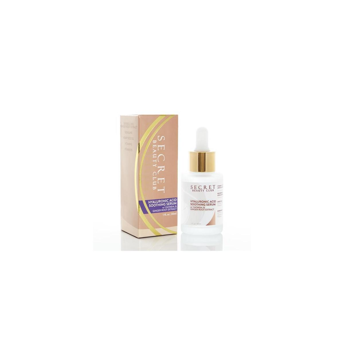 Hyaluronic Acid Soothing Serum w/ Oatmeal and Ginger Root Extract