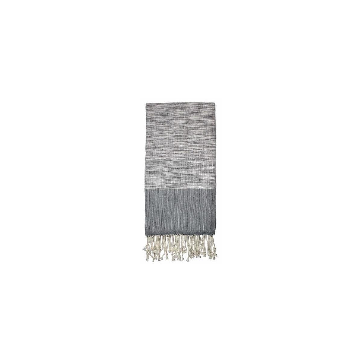 Remizone Turkish Cotton Peshtemal Towel Handloom Large, Beach Towel, Bath Towel (Grey)