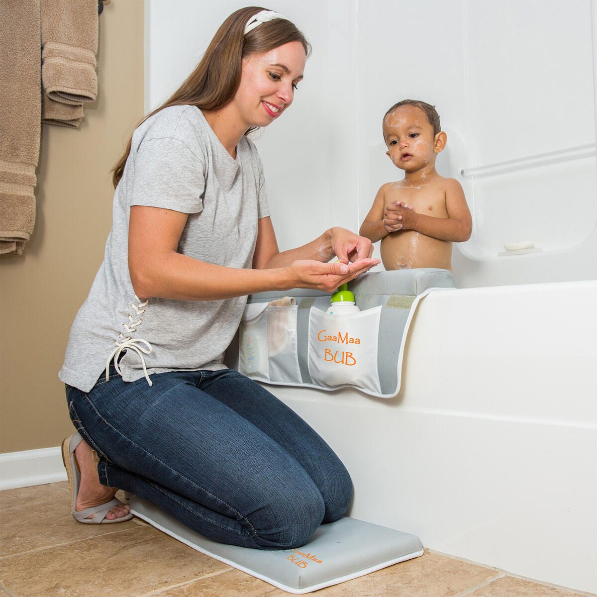 Baby Bath Kneeler and Elbow Rest Pad