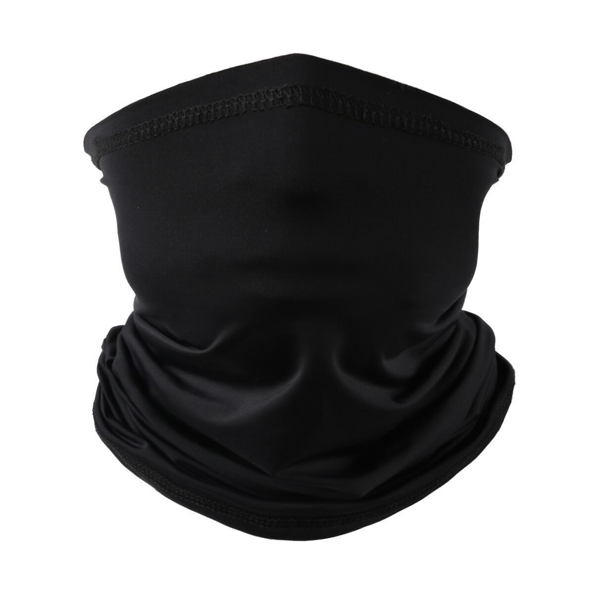 Landisun Black face cover Bandana
