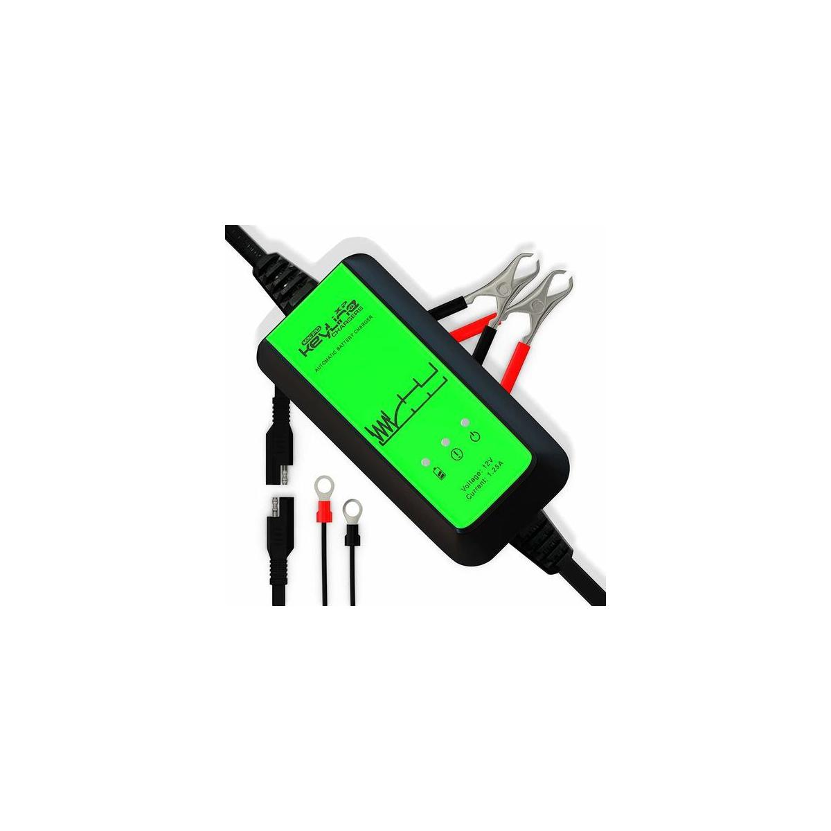 12V Automatic Battery Maintainer Tender Trickle Charger Desulfator1.25 Amp 5