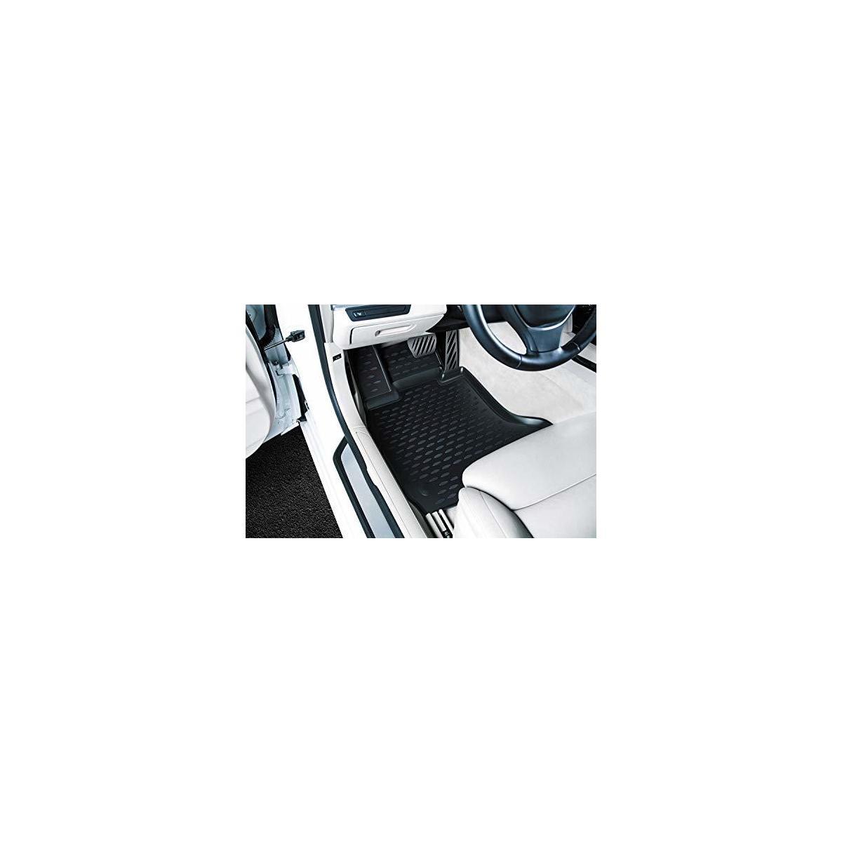 Novline 3D Floor mats Compatible with Chevrolet Silverado, 2014-2018, Regular Cab-2 pcs.…