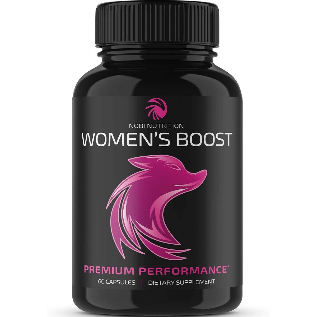Premium Women's Boost - Women Health Female Enhancement Pills - Hormone Balance Complex for Women - Support Increased Desire, Passion, Endurance, Energy & Mood (60 Capsules)