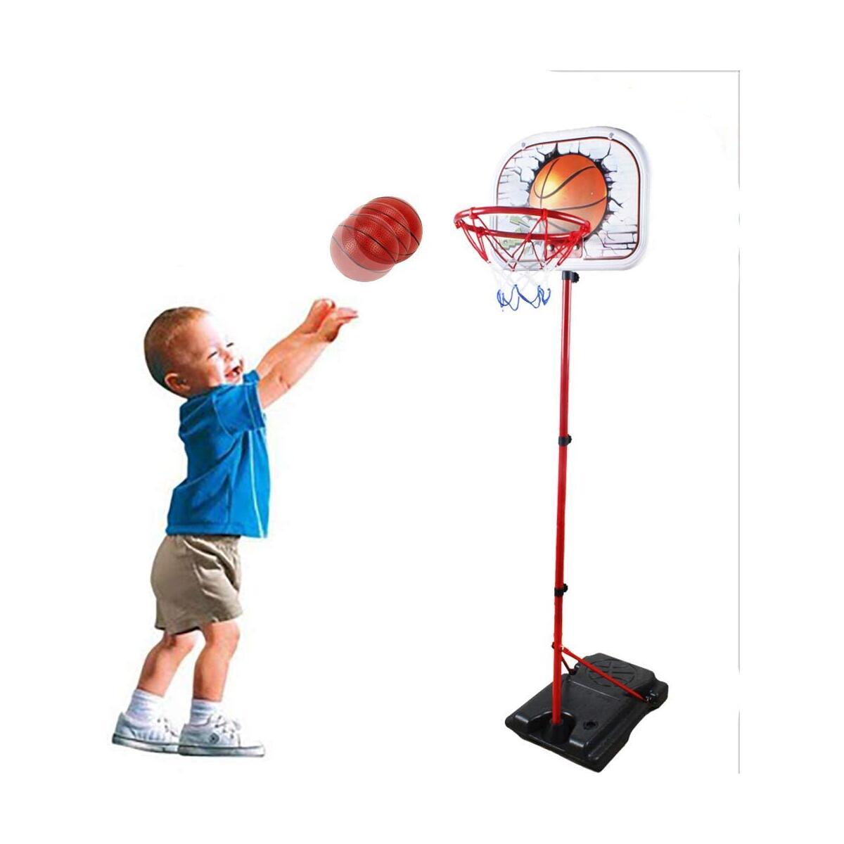 SOWOW Basketball Hoop for Kids Adjustable Height Mini Basketball Hoop for Kids Basketball Hoop Outdoor Basketball Goal for Kids Portable Basketball Hoop