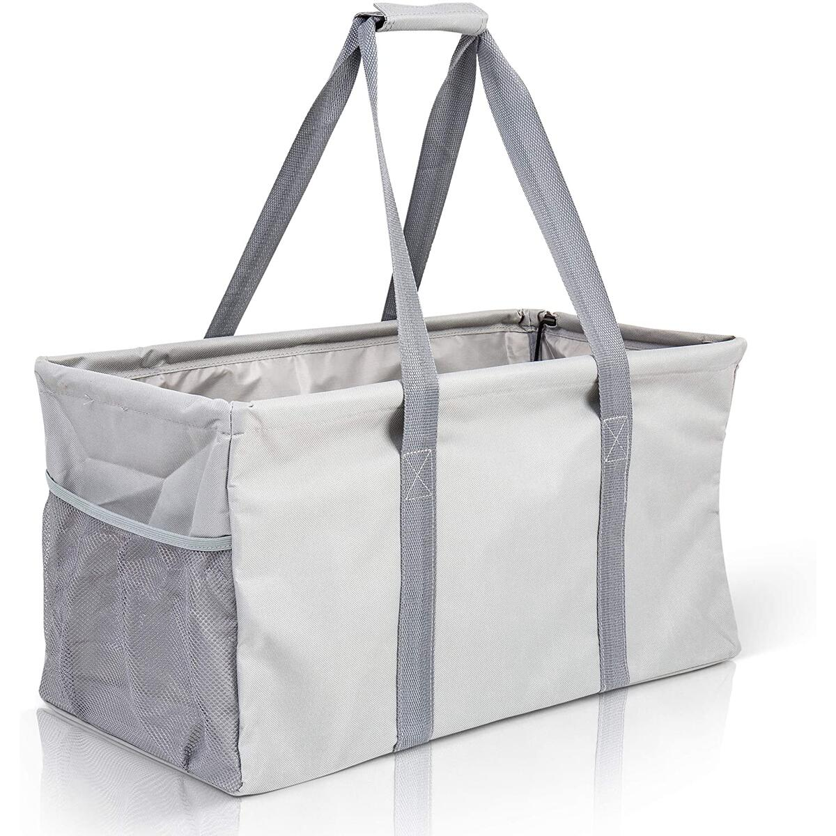 Extra Large Utility Tote Bag - Gray
