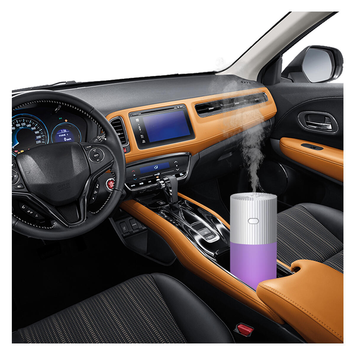 Car Diffuser Humidifiers, YJY Portable Cool Mist Humidifier for Bedroom Travel Baby(110514)