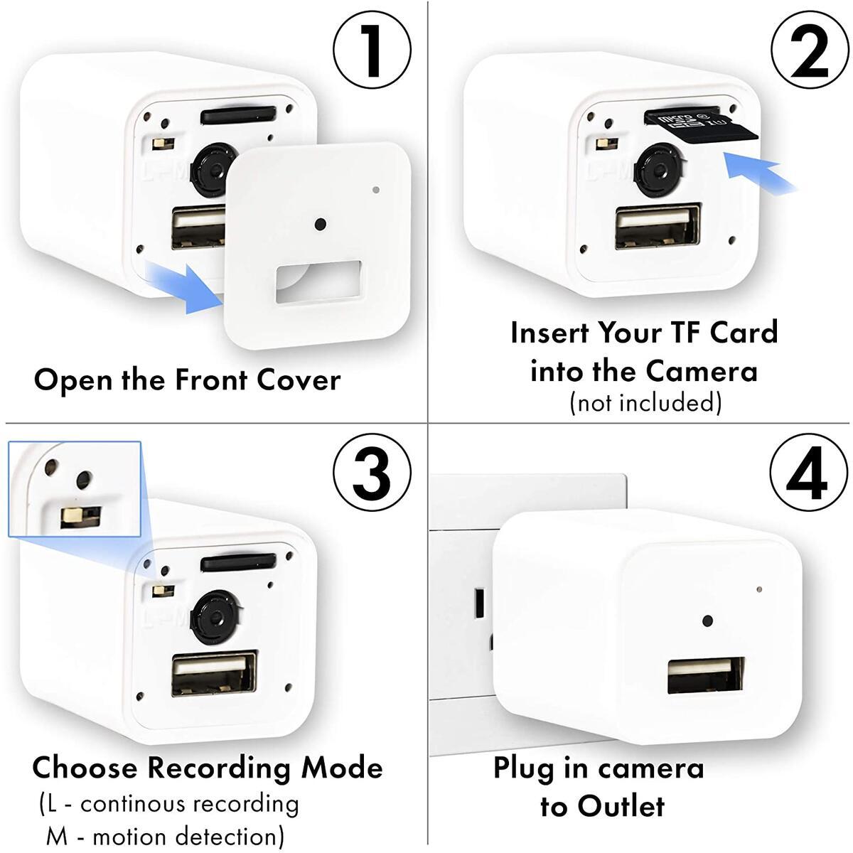 Hidden Camera Charger