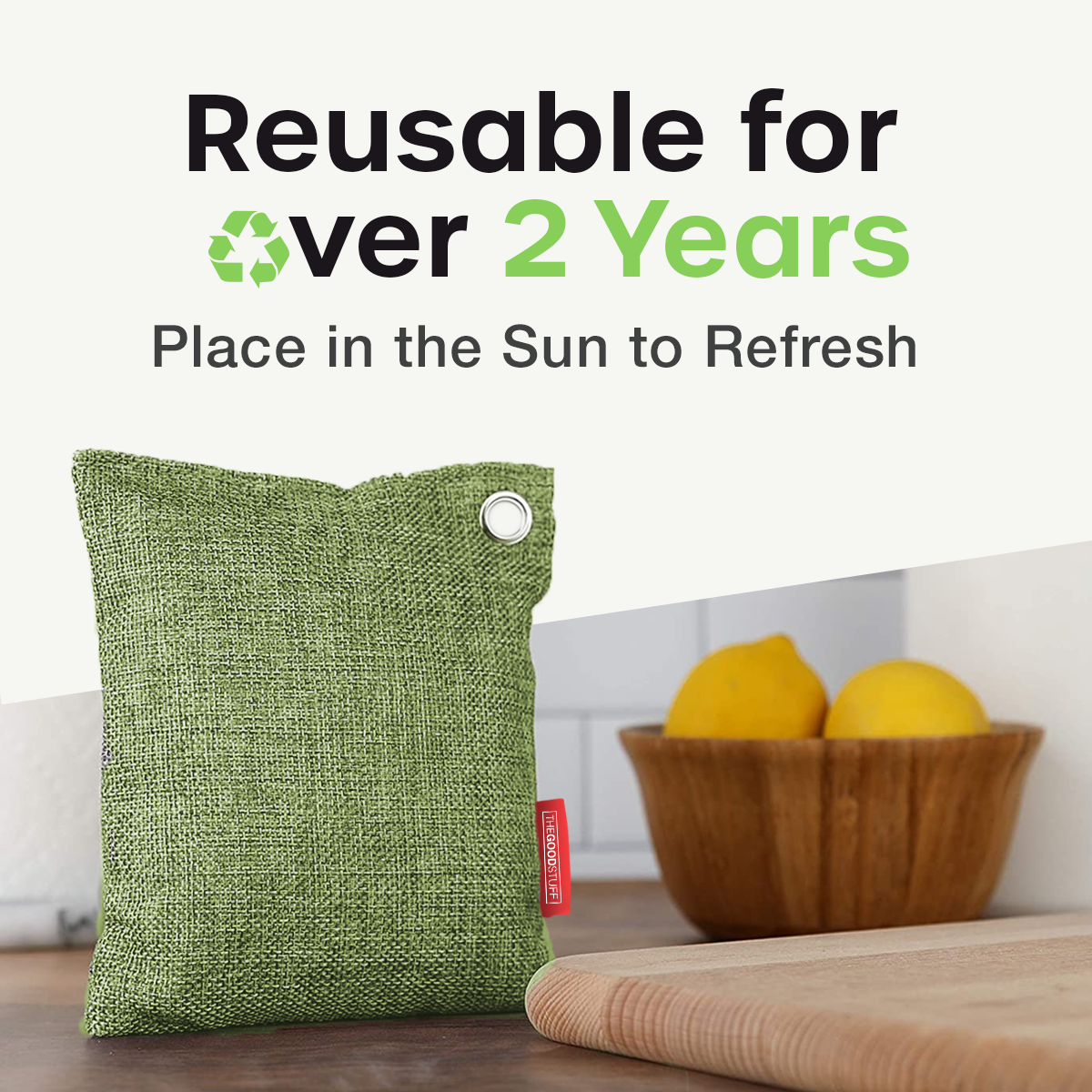 Charcoal Air Purifying Bags - Large