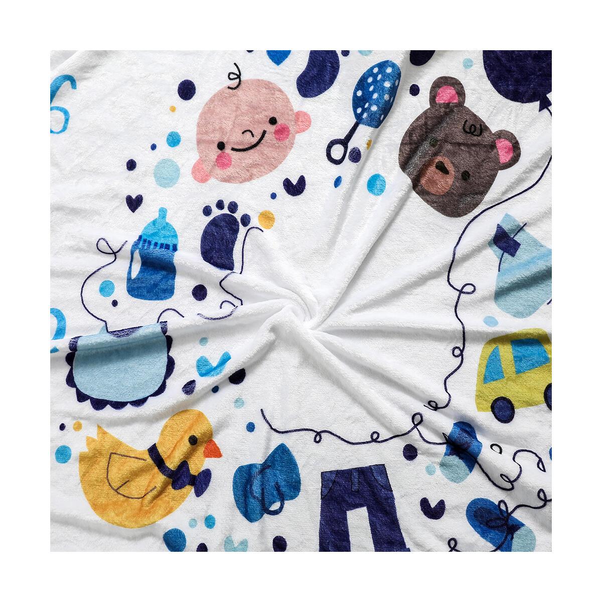 Smart Export LLC Baby Monthly Milestone Blanket, Month Blanket,Photo Blanket for Newborn Baby Shower, Baby Milestone Blanket, Newborn Shower Gifts, Best Photography Backdrop 60
