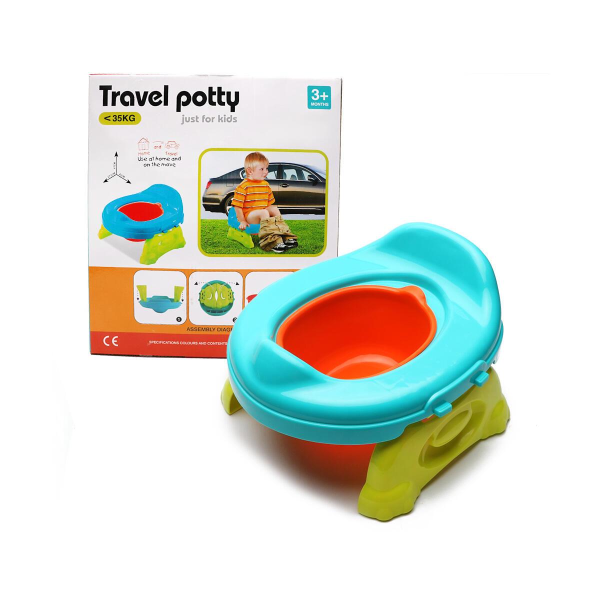 SOWOW Potty Training Seat - 2 in 1 Portable Folding Compact Toilet Seat,Potty Training Toilet Chairs for Toddler Boys & Girls