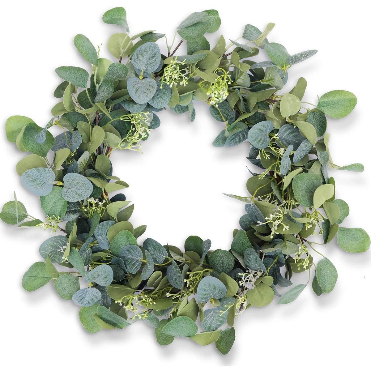 Eucalyptus Wreaths for Front Door 20