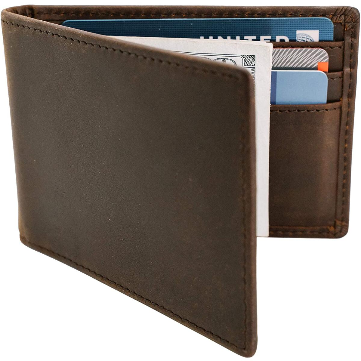 STAY FINE Minimalist Front Pocket Wallets with Money Clip | Effective RFID Blocking Wallets for Men |