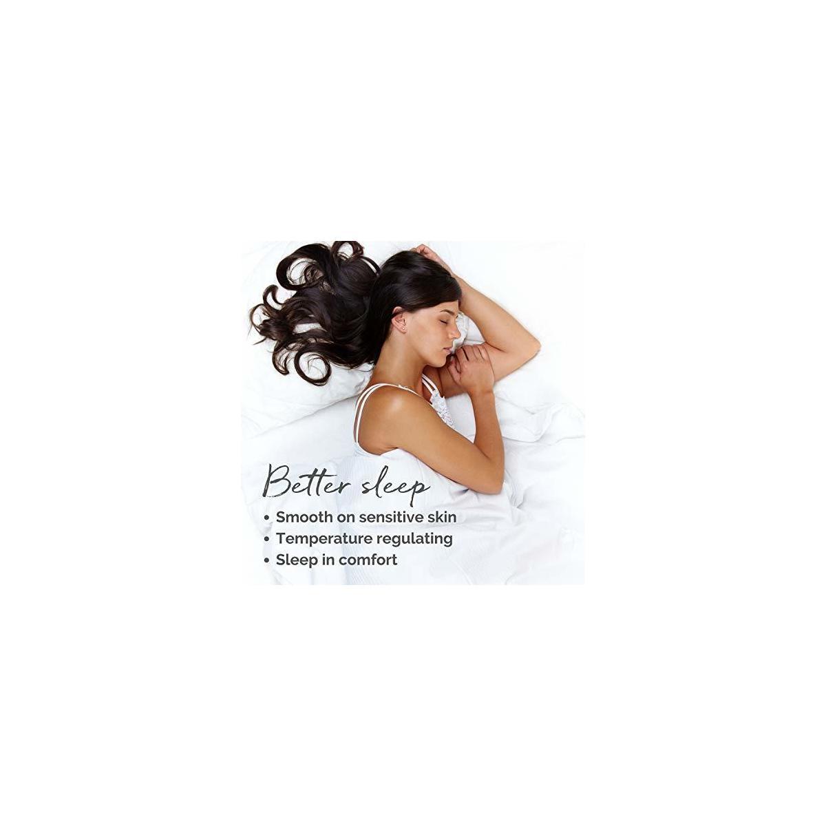 Colorado Home Co. 100% Pure Mulberry Silk Pillowcase - Queen - Silver