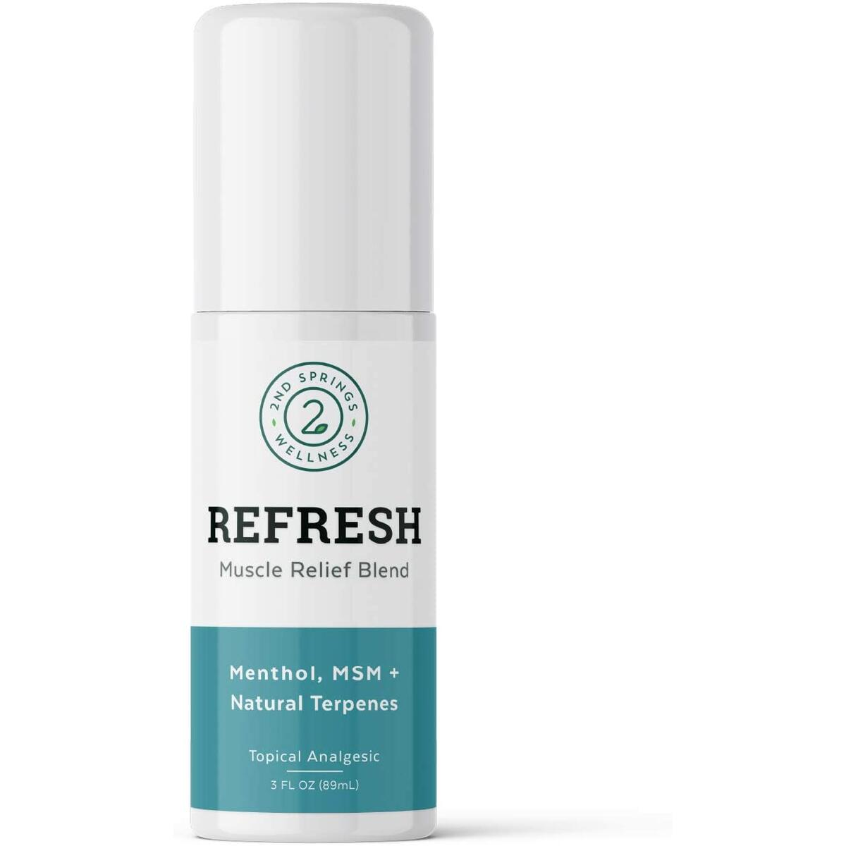 2nd Springs REFRESH Muscle Relief Blend
