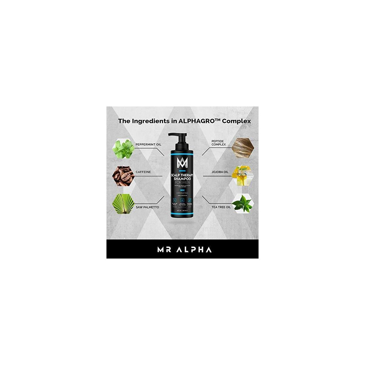 MR ALPHA Scalp Therapy Shampoo for Men