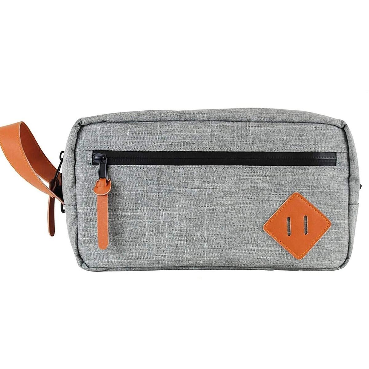 MUSK BOX Smell Proof bag | odorless travel toiletry pouch scentless water resistant carbon lined with free scent locking mylar baggies…