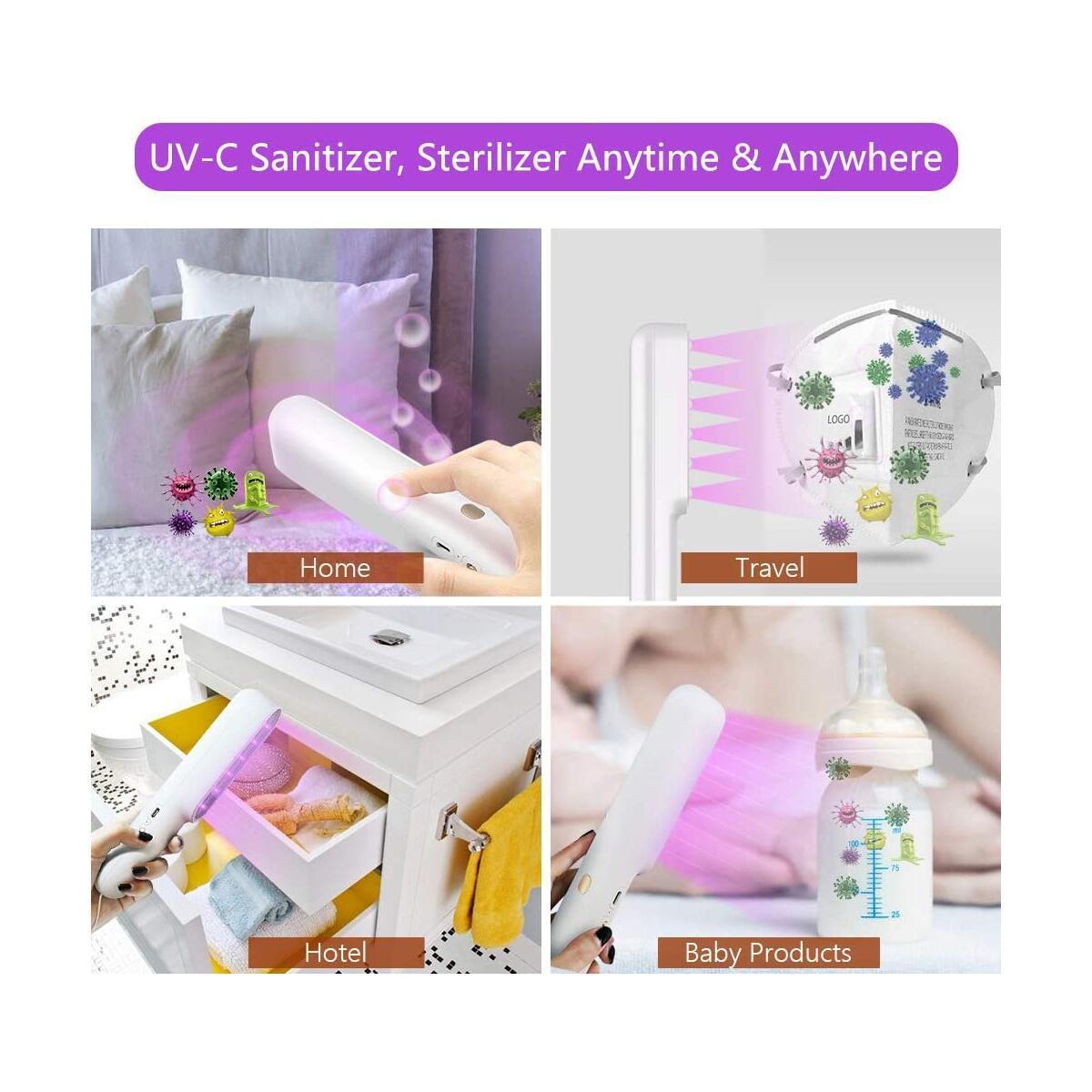 Powerful Ultraviolet Sanitizing Germ Wand 7W