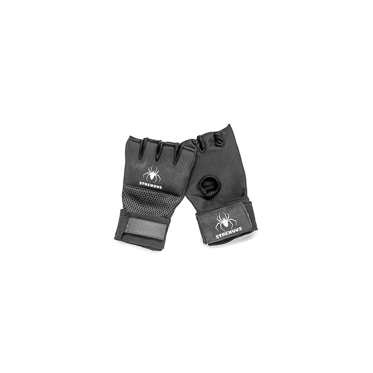 Strenuus Quick-Apply Padded Wraps for Boxing Gloves; Boxing Wraps; Kickboxing Wraps; Lightning-Fast Wrapping; Non-Slip Padding; Quick-Drying Fabric; Buy Now and Get Ready Faster Than Your Friends