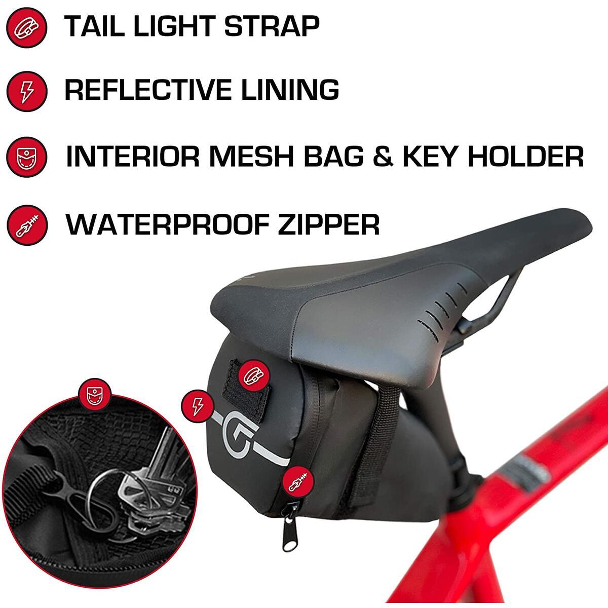 Cycle Factor Waterproof Bike Saddle Bag
