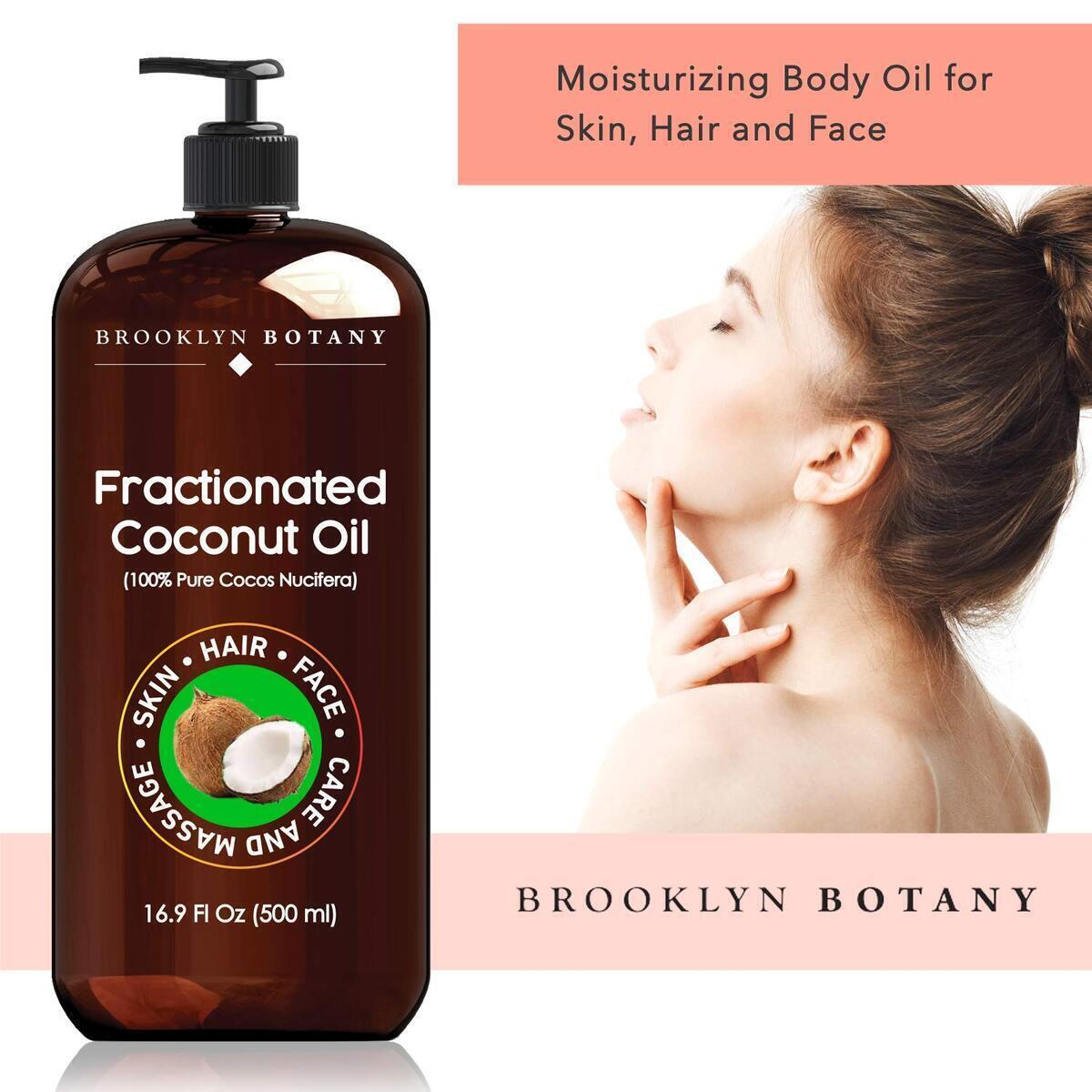 Fractionated Coconut Oil 16 oz