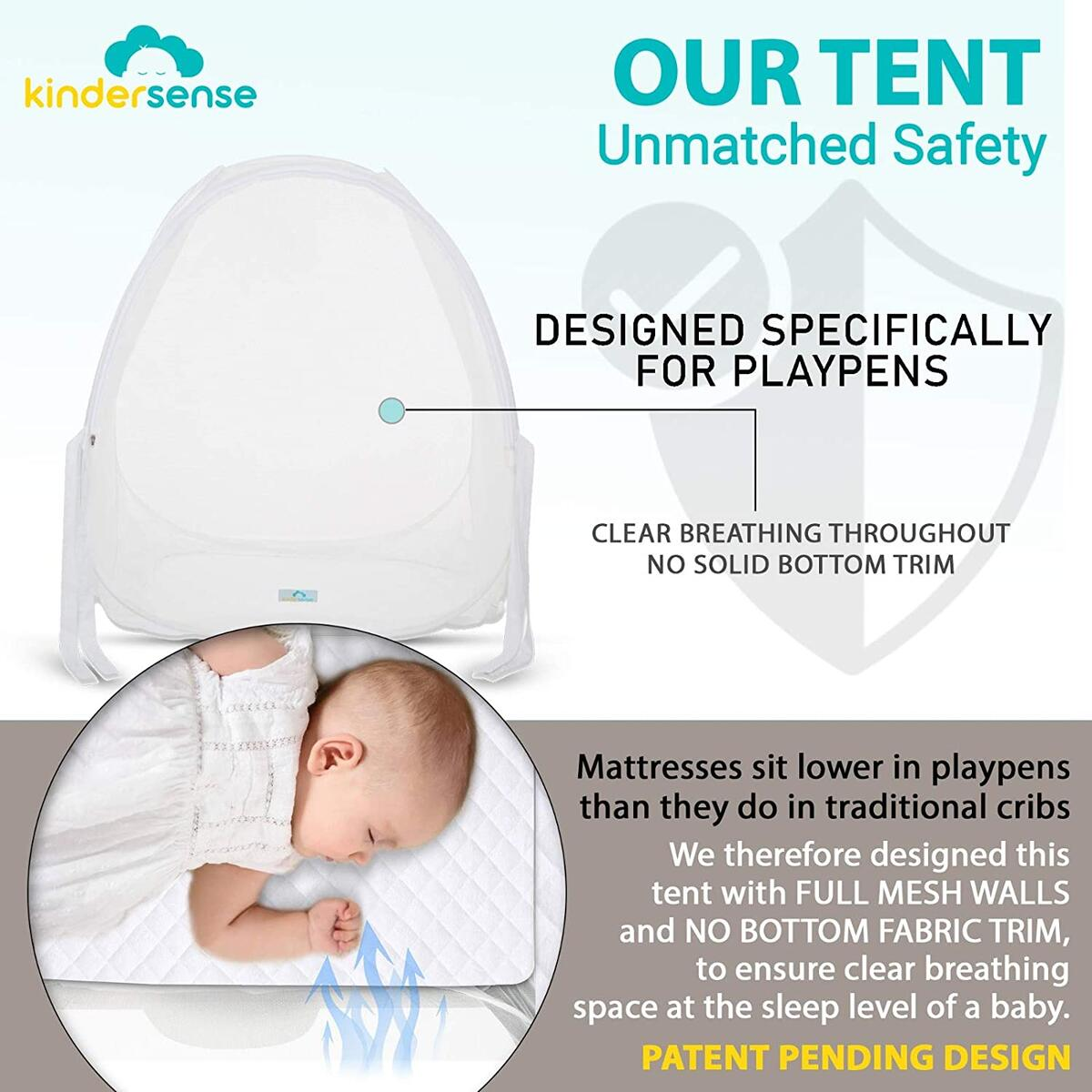Pack N Play Tent to Keep Baby From Climbing Out