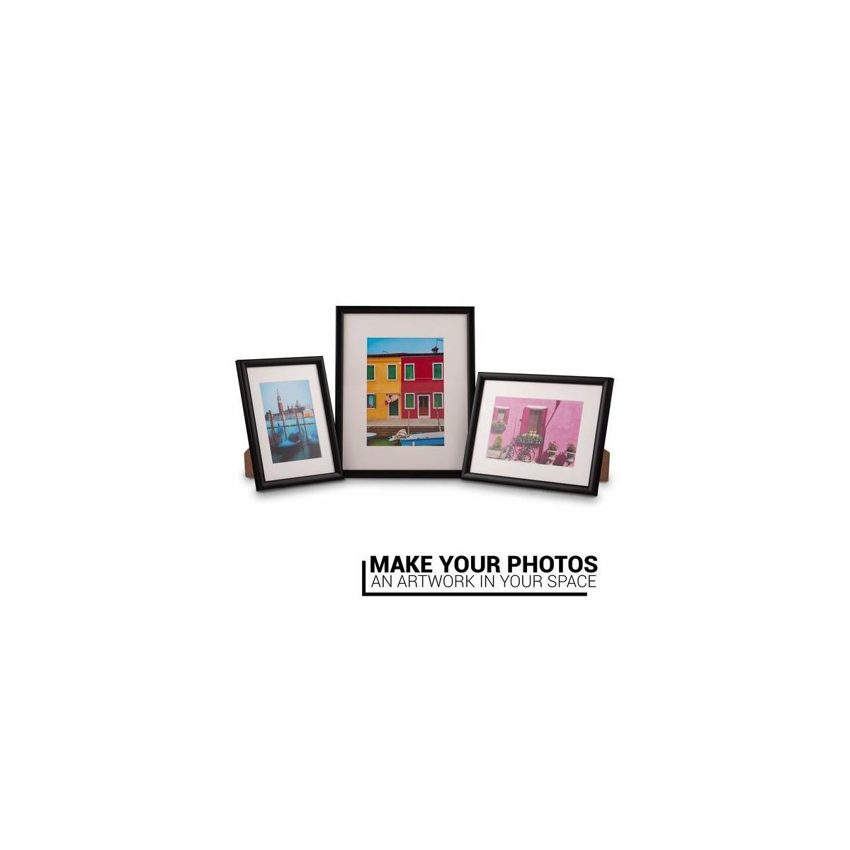 Picture Frame Photo Frames Size Fits 4x6 inch Photos.Picture Frame Black Made of Solid Wood Glass Ready to Hang The Frame on The Wall or Put on Desktop Horizontal Vertical