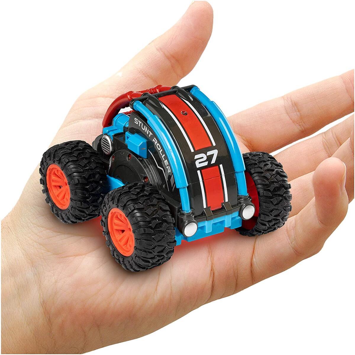 Stunt Roller-RED/BLUE Remote Control Car for Kids
