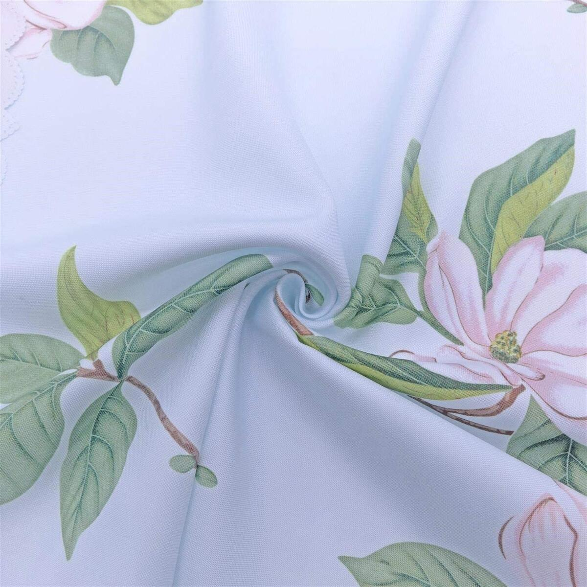 Round Floral Tablecloth