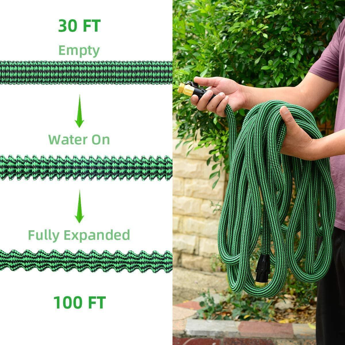 Expandable Garden Hose 100 ft