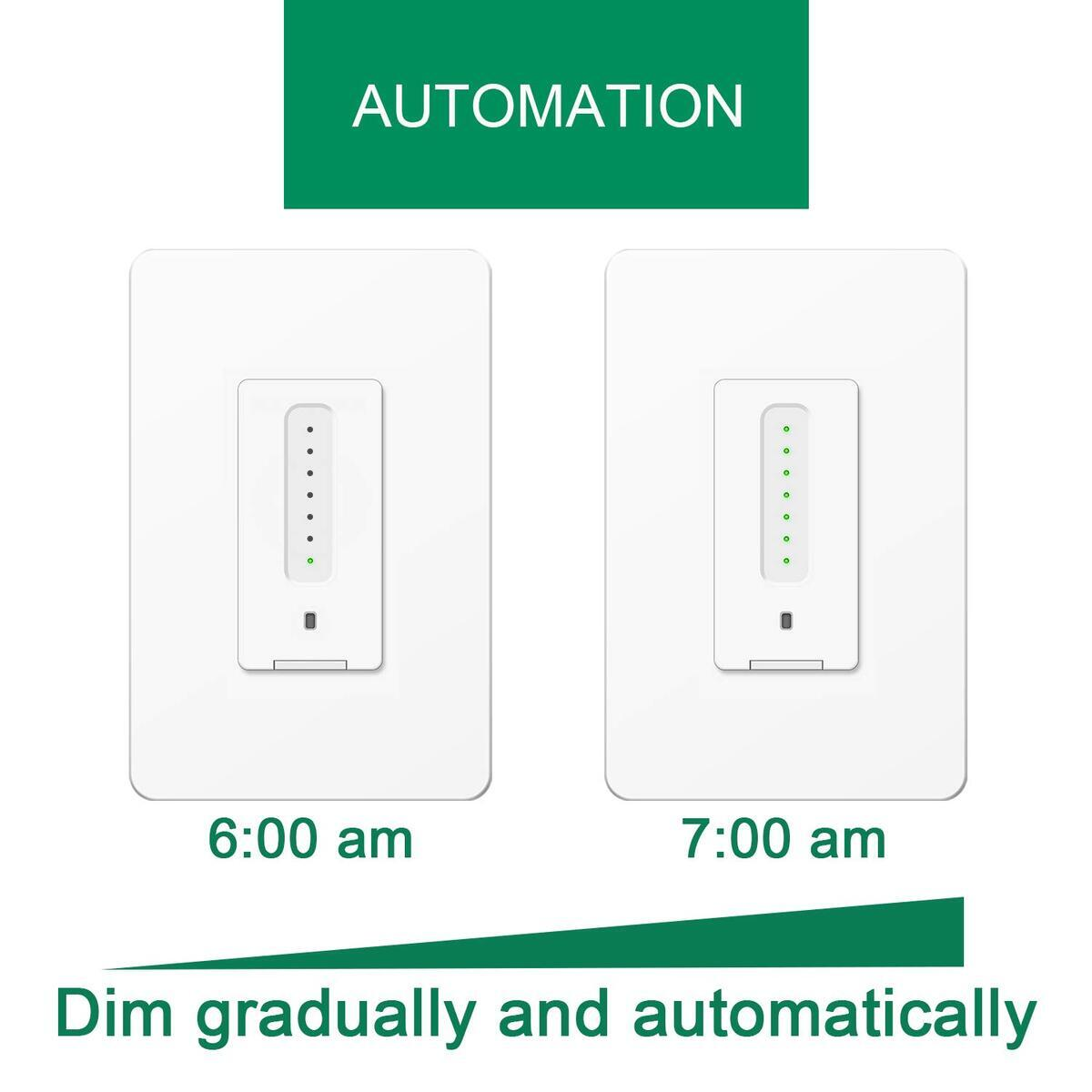 2020 New Smart Dimmer Switch (Touch Dimmer) | Trailing Edge Dimmer