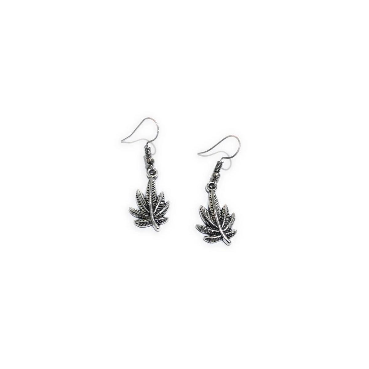MADARI FASHIONS - Cannabis Earrings