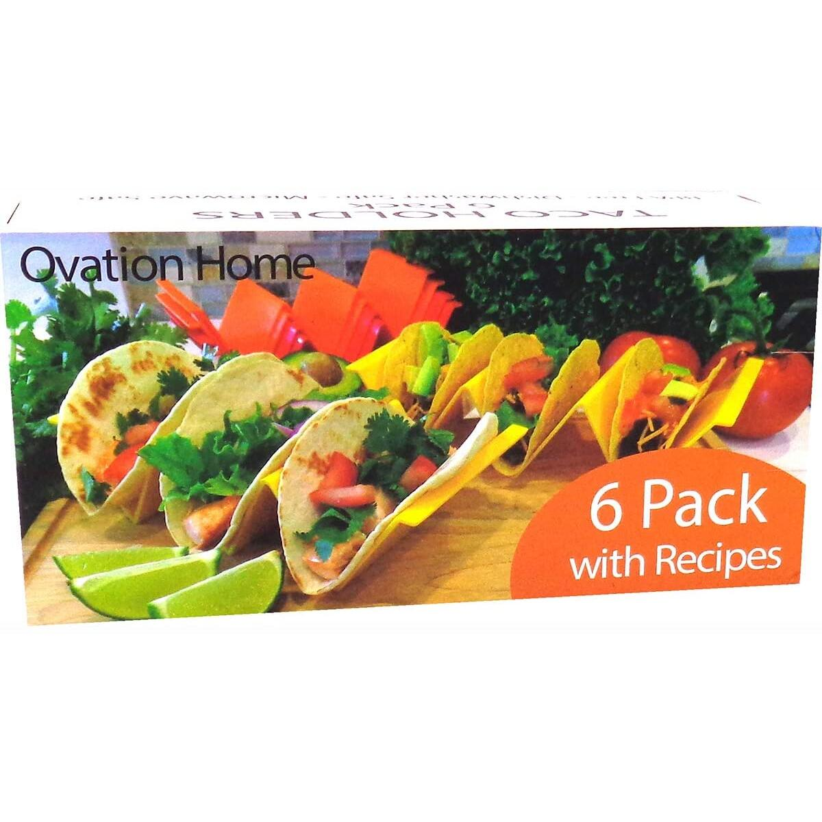 Plastic Taco Holders - Six Pack