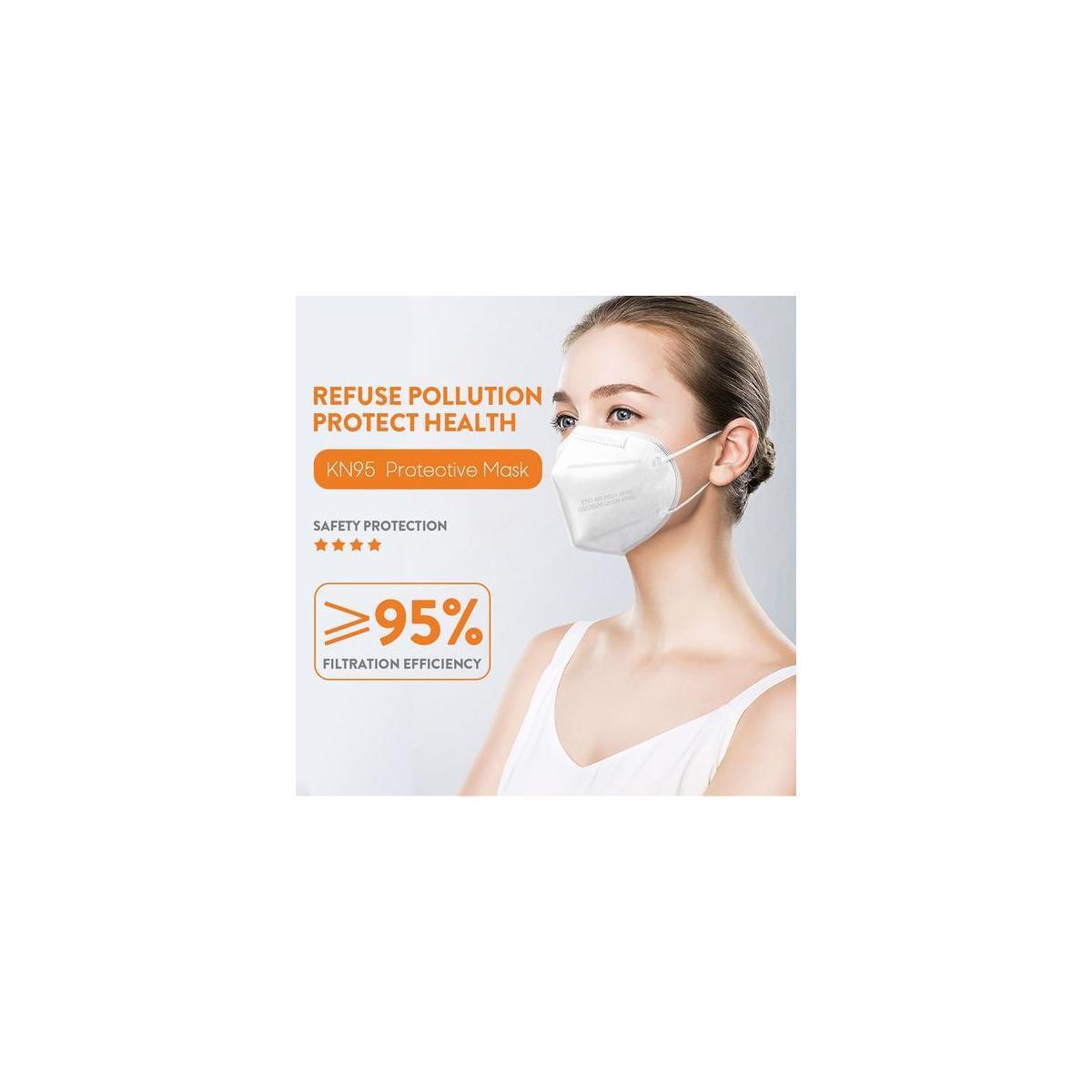 KN95 Protective Face Mask (5PCS)