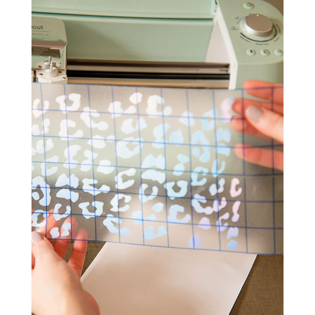 """Bright Idea Supplies Permanent Holographic Vinyl Sheets - 9 Pack 12""""x12""""   Holographic Adhesive Vinyl Sheets, Assorted Colors   Vinyl Bundle Pack for Crafters - Vinyl for Cricut and Silhouette"""