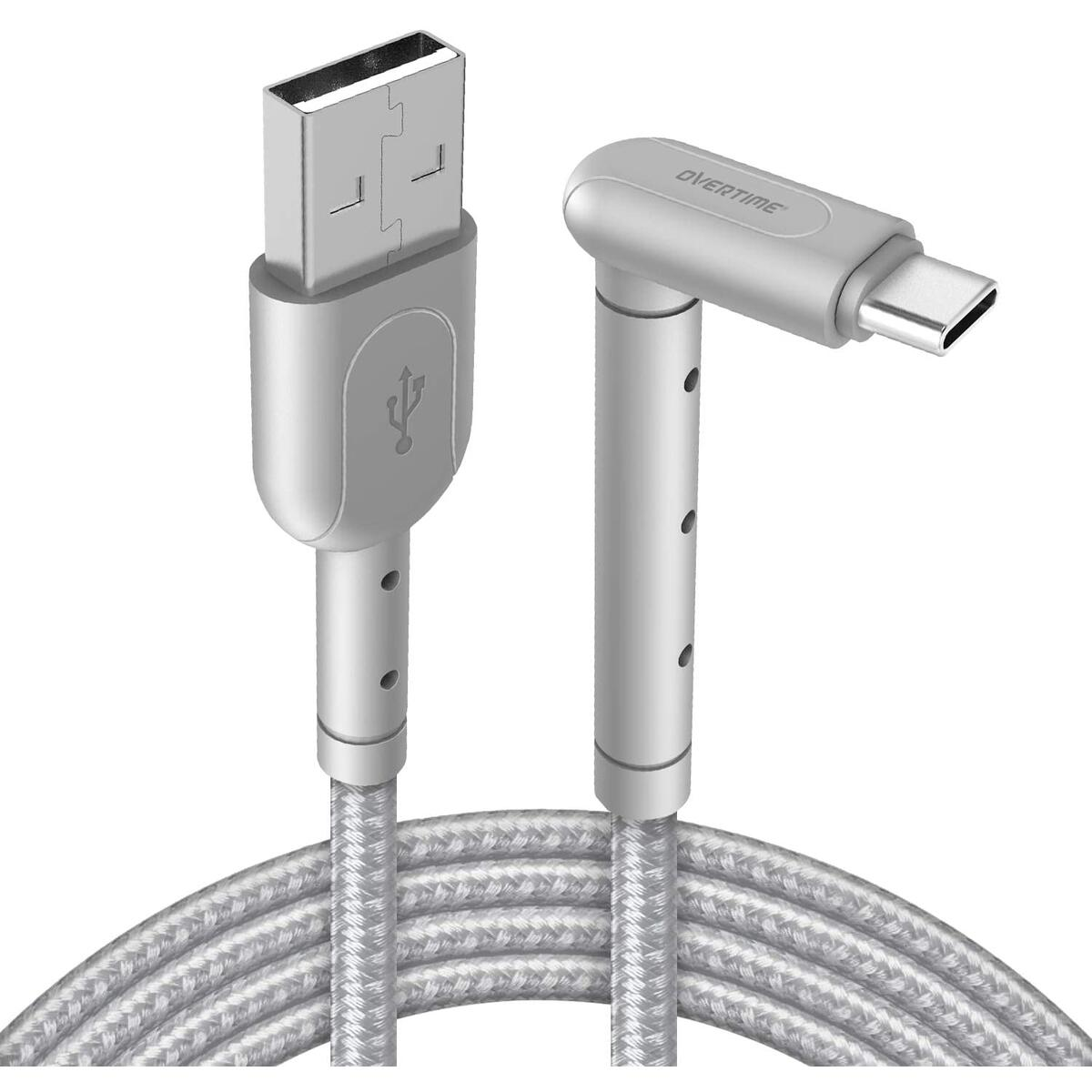Android Phone Stand & USB Type C Charging Cable, Overtime 6ft Cable Phone Holder and USB Charger Cord