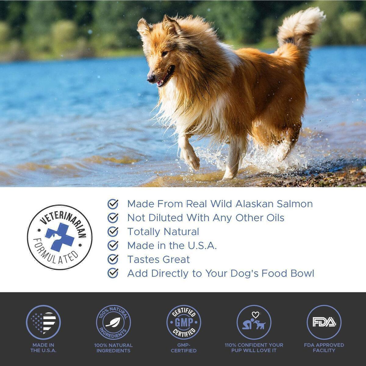 PetHonesty Wild Alaskan Salmon Oil (For Dogs & Cats)